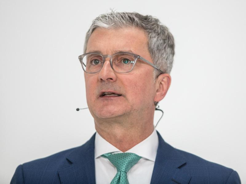 Bildergebnis für Audi-Chef Rupert Stadler vorläufig festgenommen