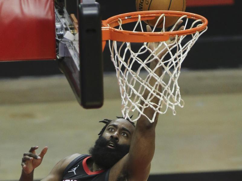 James Harden verlässt die Houston Rockets. Foto: Yi-Chin Lee/Houston Chronicle/dpa (© Yi-Chin Lee)