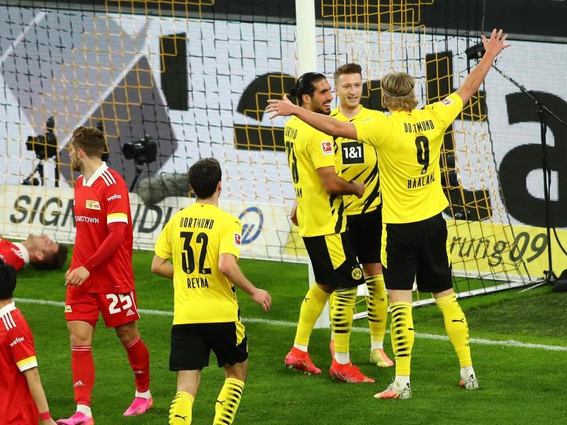 BVB und Wolfsburg auf Kurs - Werder verliert gegen Mainz