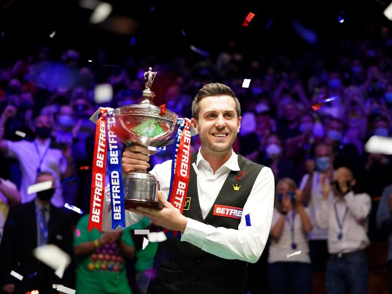 Mark Selby ist zum vierten Mal Snooker-Weltmeister. Foto: Zac Goodwin/PA Wire/dpa (© Zac Goodwin)