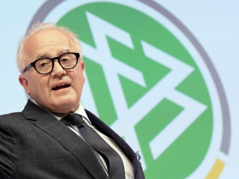 DFB-Präsident Fritz Keller hatte sich eine verbale Entgleisung geleistet. Foto: Boris Roessler/dpa (© Boris Roessler)