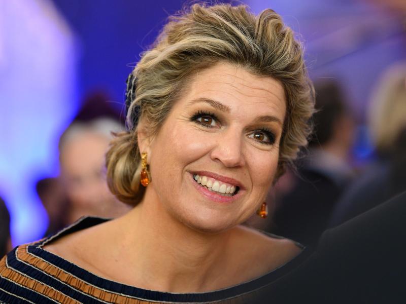 Glamour, Tango und máximales Strahlen: Die niederländische Königin Máxima wird 50. Foto: Mohssen Assanimoghaddam/dpa (© Mohssen Assanimoghaddam)