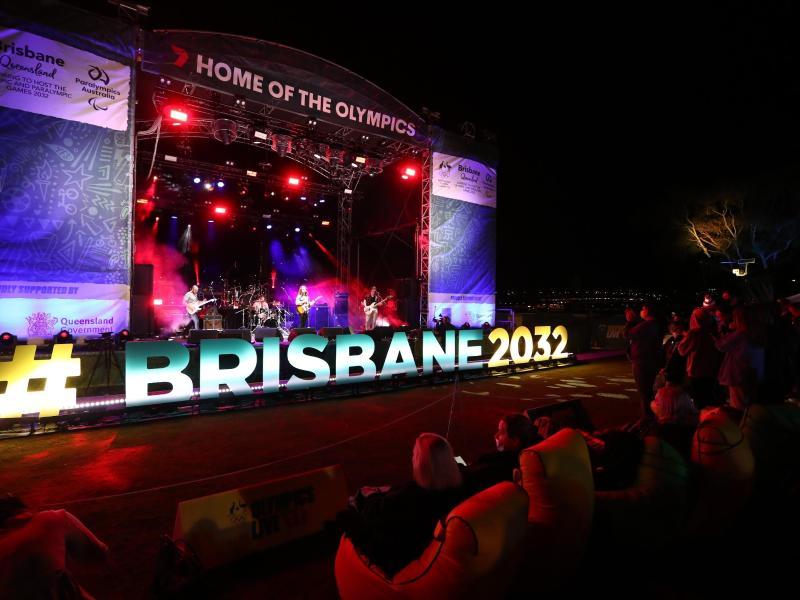 Die Olympischen Sommerspiele 2032 finden in Brisbane statt. Foto: Jason O'brien/AAP/dpa (© Jason O'brien)