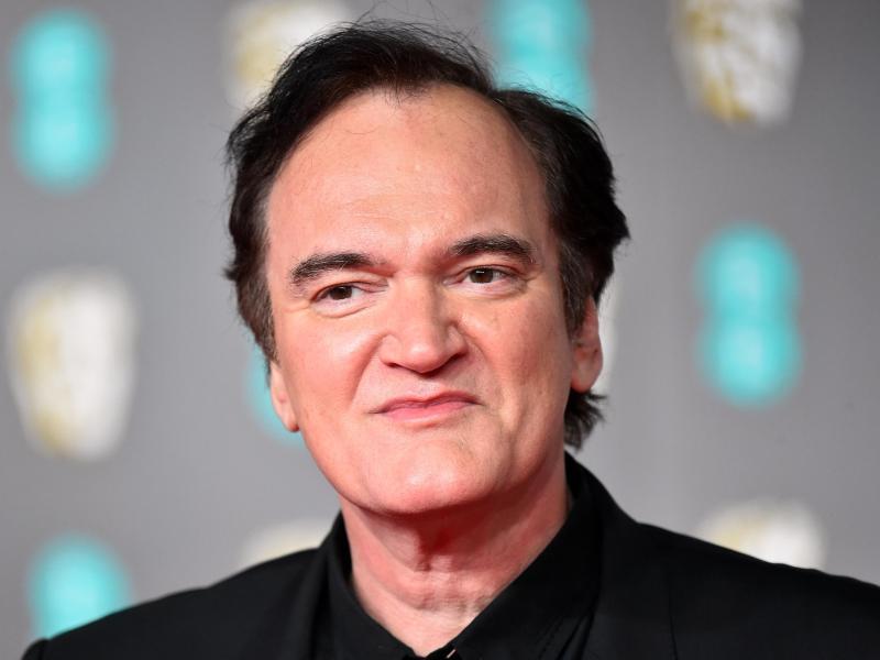 Star-Regisseur und Oscar-Preisträger Quentin Tarantino 2020 bei den British Academy Film Awards. Foto: Matt Crossick/PA Wire/dpa (© Matt Crossick)