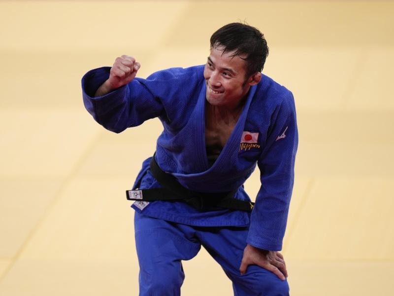 Naohisa Takato aus Japan gewann Judo-Gold. Foto: Jae C. Hong/AP/dpa (© Jae C. Hong)