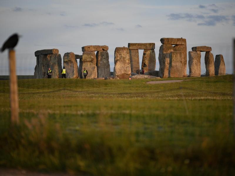 Das Bauwerk Stonehenge. Foto: Ben Birchall/PA Wire/dpa (© Ben Birchall)