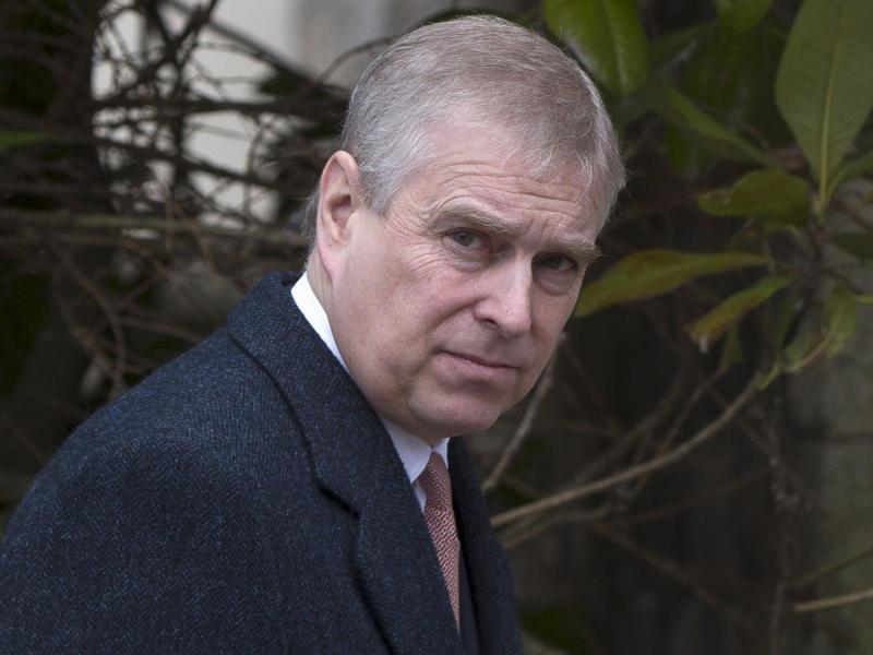 Prinz Andrew von Großbritannien. Eine Frau wirft ihm vor, sie als Minderjährige sexuell missbraucht zu haben. Foto: Neil Hall/PA Wire/dpa (© Neil Hall)