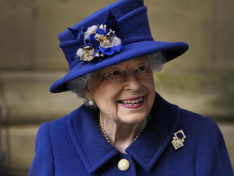 Unermüdlich im Dienst:Die britische Königin Elizabeth II. nach einem Dankgottesdienst in London. Foto: Frank Augstein/AP Pool/dpa (© Frank Augstein)