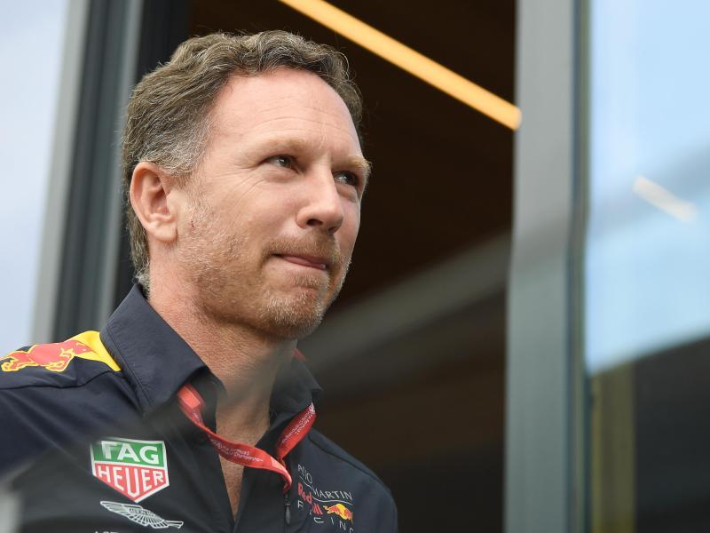 Will mit Red Bull den WM-Titel in der Formel 1 holen:Teamchef Christian Horner. Foto: Sebastian Gollnow/dpa (© Sebastian Gollnow)