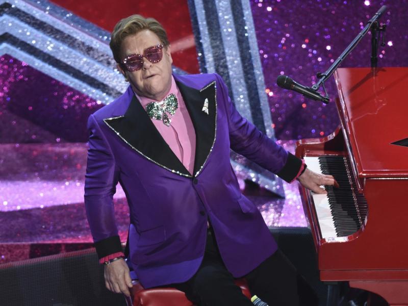 Elton John - seit Jahrzehnten erfolgreich. Foto: Chris Pizzello/Invision/AP/dpa (© Chris Pizzello)
