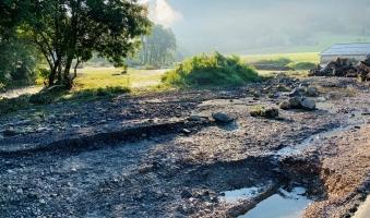 Eine Woche nach dem Starkregen: So geht's der Gemeinde Rettenberg -