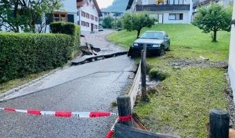 Soforthilfe für Geschädigte des Unwetters im Oberallgäu -