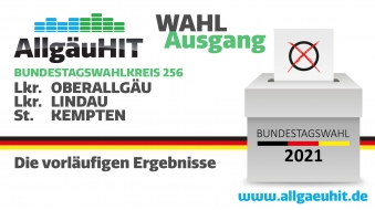 Bundestagswahl im Wahlkreis Kempten, Oberallgäu, Lindau -