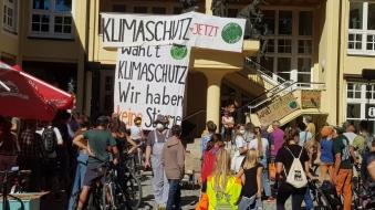 Globaler Klimastreik - Demos auch im Allgäu -