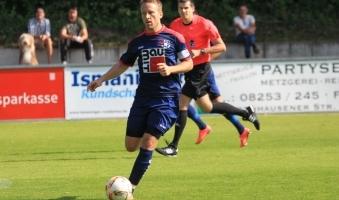 Foto: 1. FC Sonthofen schließt Spieltag mit 1:1 ab - Oberallgäuer spielen Unentschieden gegen FC Ismaning