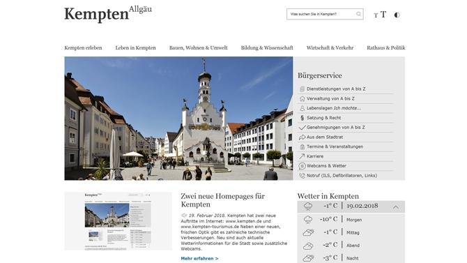 wetter.com kempten