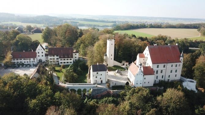 Die Mindelburg ist ein tolles Denkmal (© Stadt Mindelheim)