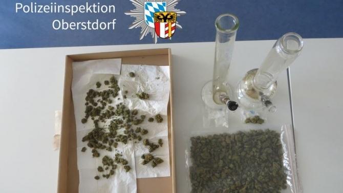 Großer Drogenfund bei Durchsuchungen in Oberstdorf