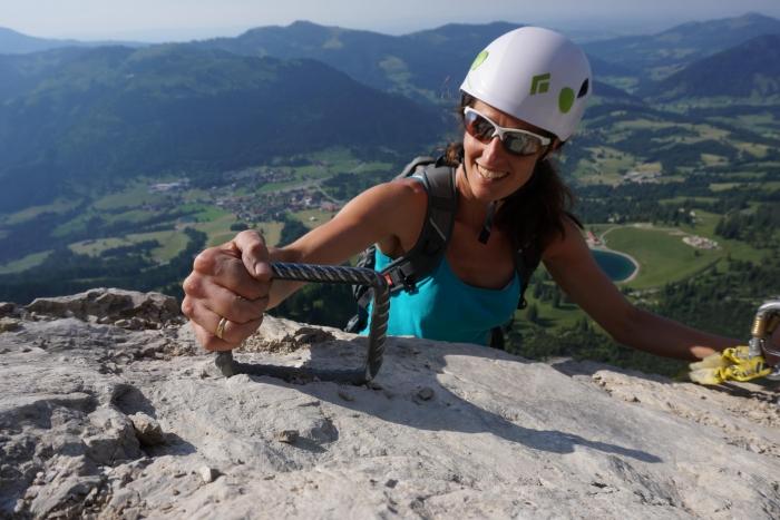 Klettersteig Oberjoch : Der iseler klettersteig im allgäu bergzeit tourentipp