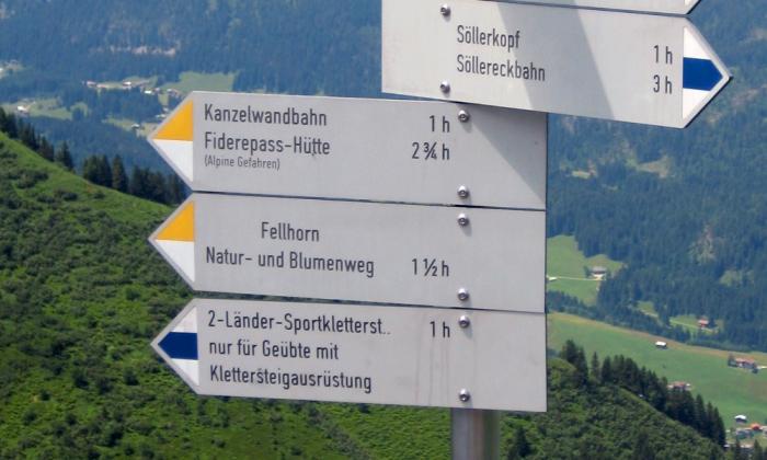 Mindelheimer Klettersteig Unfall : Lindauer im kleinwalsertal tödlich verunglückt mann stürzt am