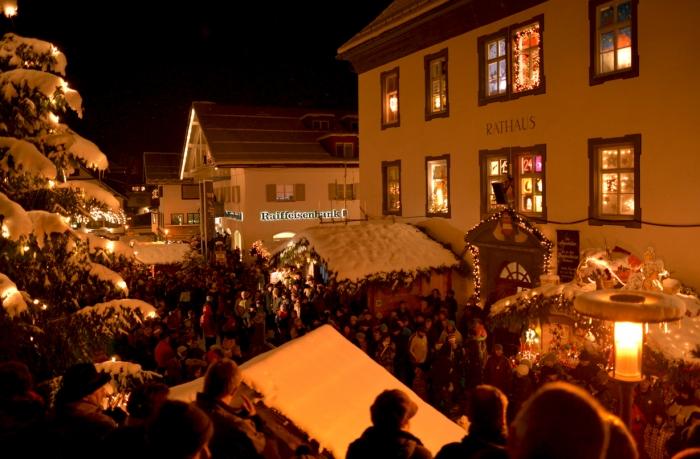 Bad Hindelang Weihnachtsmarkt.Weltpremiere Beim Erlebnis Weihnachtsmarkt In Bad Hindelang