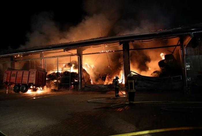 Lagerhallenbrand Heute