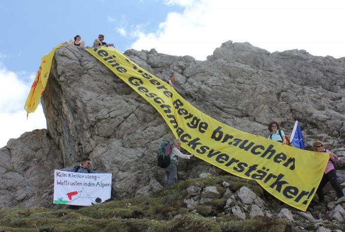 Klettersteig Kanzelwand : Länder sportklettersteig an der kanzelwand walk to balance